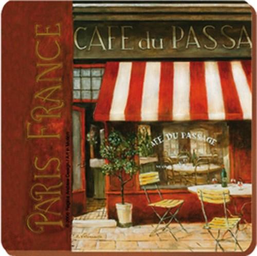Подставка под стакан Кафе де Пассаж (6 шт.)