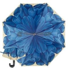 Складной зонт Pasotti Auto Blu Pelle