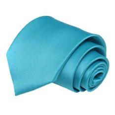 Мужской бирюзовый галстук
