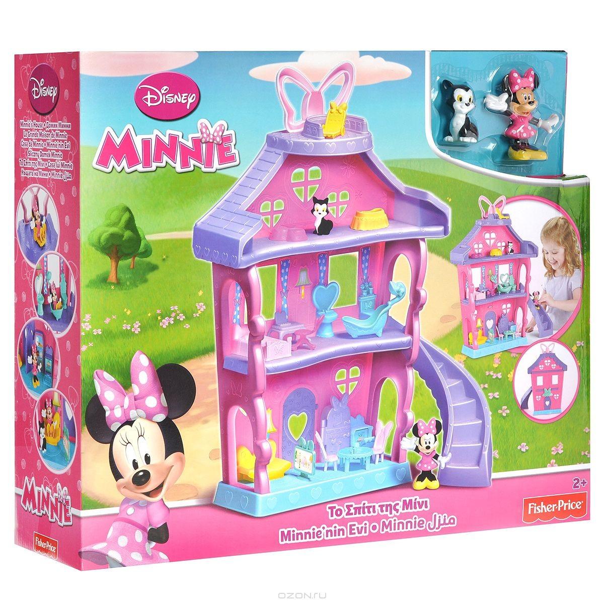 Игровой набор Minnie Mouse Домик Минни