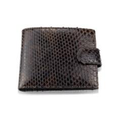 Шоколадный кошелек из кожи питона