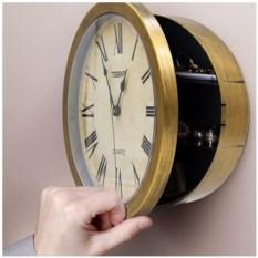 Настенные часы-сейф «Ретро»