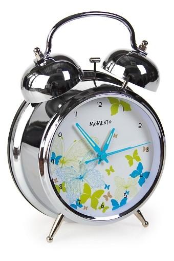 Настольные часы Кружевные бабочки (с подсветкой)