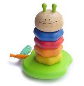 Разноцветная пирамидка Гусеничка, I'm Toy