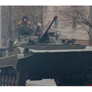 Катание на боевой машине (БТР, БМП, БА)