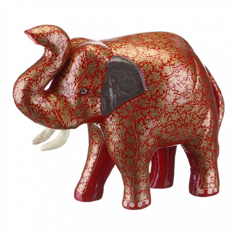 Фигурка Красно-коричневый слон Gemini Enterprises