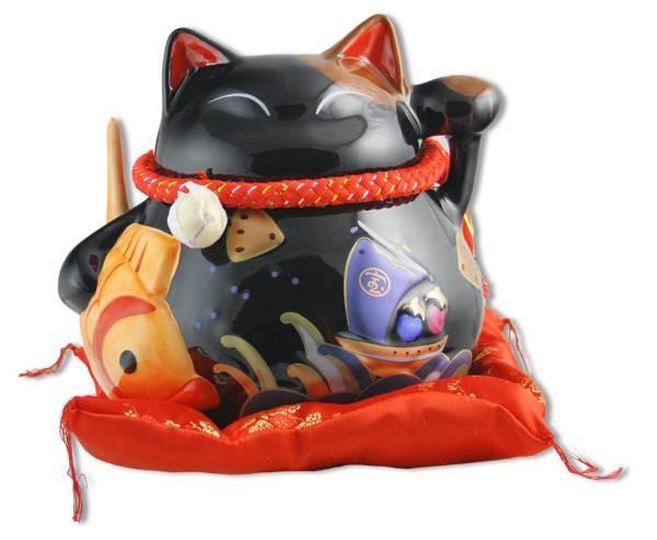 Кот-копилка Долголетие, защита от зла и много посетителей!