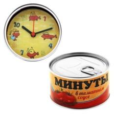 Часы-консервы Минуты в томатном соусе