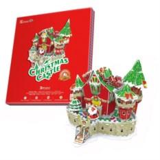 Пазл Сказочный рождественский замок