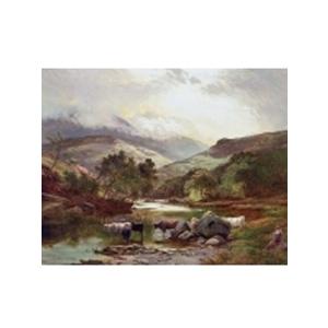 Картина «Шотландское нагорье»