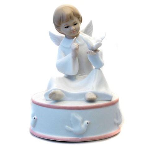 Статуэтка «Ангел сидящий» (музыкальный)