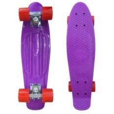 Скейтборд EcoBalance (цвет — фиолетовый)
