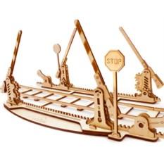 Механический 3D-конструктор Ugears «Переезд и рельсы»