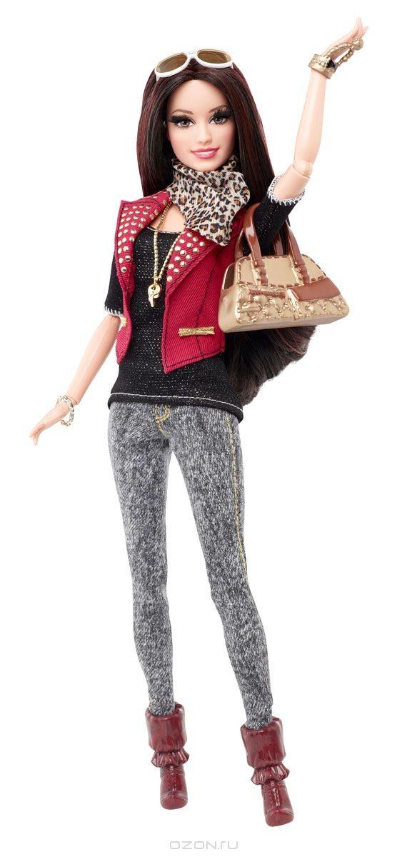 Кукла Barbie Casual, в красной крутке