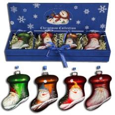 Набор елолчных украшений в деревянной коробке Mr. Christmas
