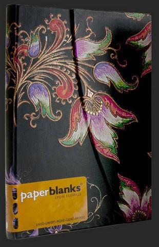 Блокнот от Paperblanks Цветочный каскад и чёрное дерево