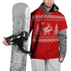 Накидка на куртку Свитер с оленями