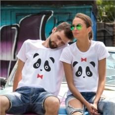 Парные футболки Милые панды