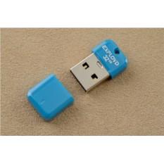 Флешка-брелок Exployd USB 2.0 32Gb (голубая)