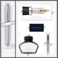 Набор Cross Townsend: ручка, конвертер, картриджи и чернила
