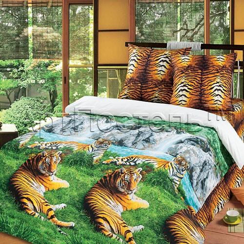 Комплект постельного белья Волшебная долина (семейный)