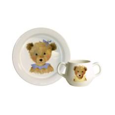 Набор детской посуды для девочек Gien Мишки