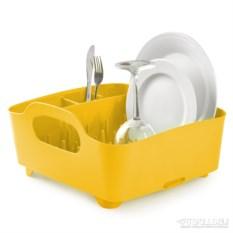 Канареечно-жёлтая cушилка для посуды Tub