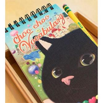Блокнот для изучения иностанных слов Choo choo