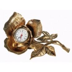 Настольные часы «Роза»