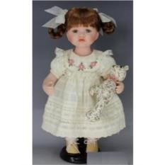 Коллекционная фарфоровая кукла Аврора