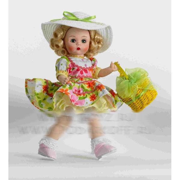 Кукла «Весенняя корзинка»