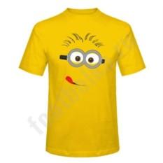 Мужская футболка Миньон с языком
