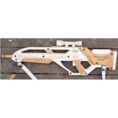 Именное деревянное оружие «Для вежливого человека»