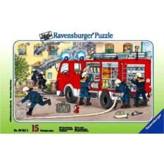 Пазл Пожарные за работой от Ravensburger
