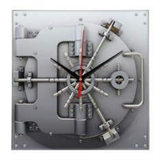 Настенные часы Сейф