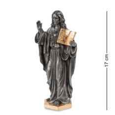 Статуэтка из полистоуна Иисус с Ветхим Заветом