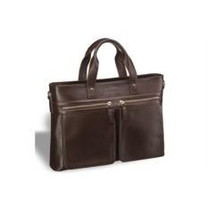 Деловая коричневая сумка для документов Bosa