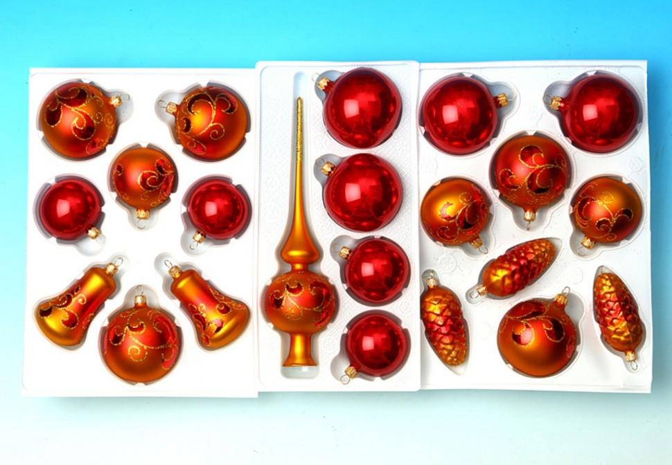 Набор новогодних украшений Ёлочка узорная