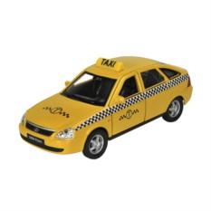 Инерционная машинка Welly 1:34-39 LADA PRIORA Такси