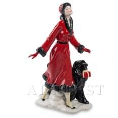 Фигурка Дама с собакой