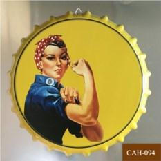 Декоративная пивная крышка We Can Do It!