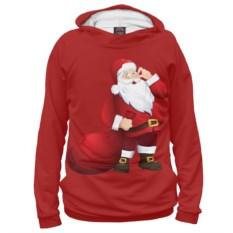Женское худи Дед Мороз