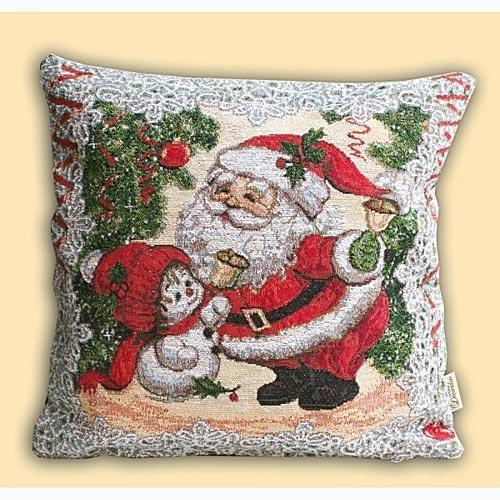 Подушка Друзья Деда Мороза