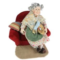 Фарфоровая кукла Бабушка