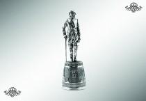 Серебряная рюмка «Петр Первый»