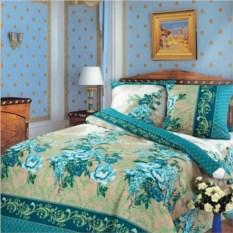 Постельное белье Синий гобелен (двуспальный комплект)