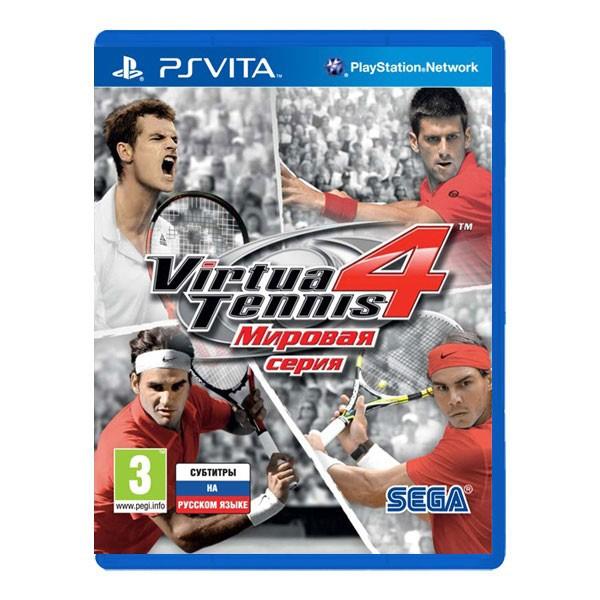 Игра Virtua Tennis 4: Мировая серия (PS Vita)