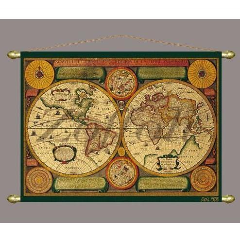 Карта мира (музейная копия)