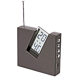 Радио с часами