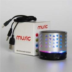 Портативная музыкальная колонка Music с подсветкой